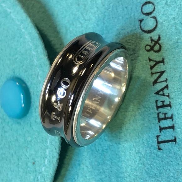 c33c18c74 Tiffany & Co. 1837 Concave Titanium Band Ring 6.25.  M_5d05a8412db55a1b1ffea48a